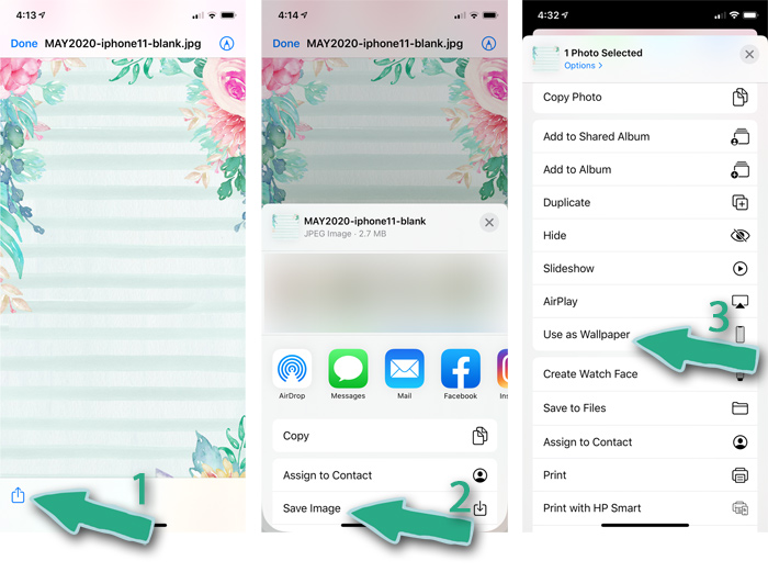 How to Install Wallpaper on your iPhone