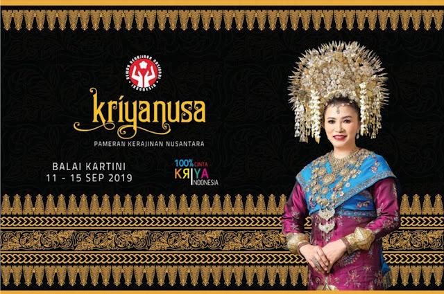Kriya Nusa 2019, Pameran Kerajinan Nusantara