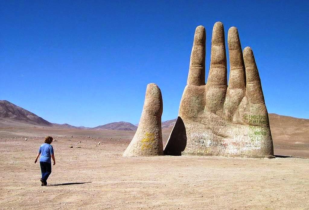 La Mano del Desierto Chile