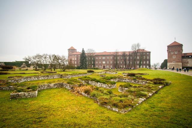 Punto informazioni nel castello reale del Wawel-Cracovia
