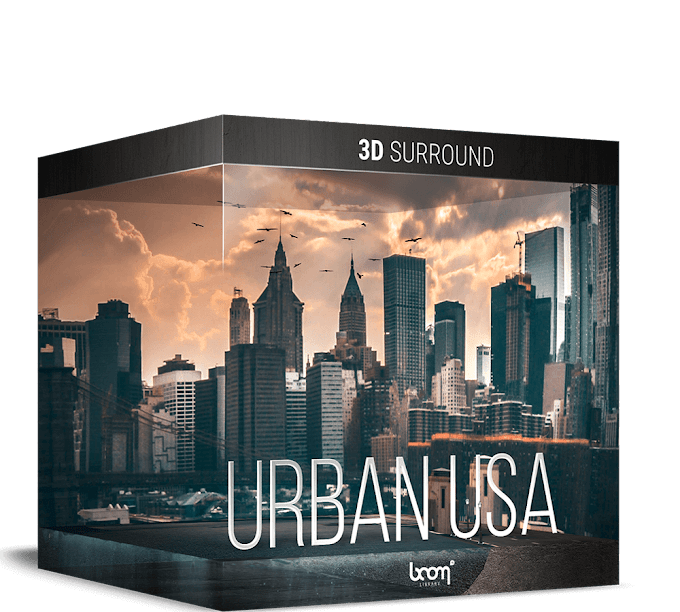 Download Urban USA 3D Surround Edition[Boom Library][WAV]