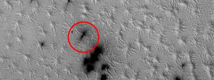 aranhas em Marte