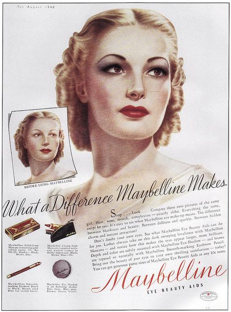 Eating Lipstick: 1930s Vintage Maybelline Cake Mascara!