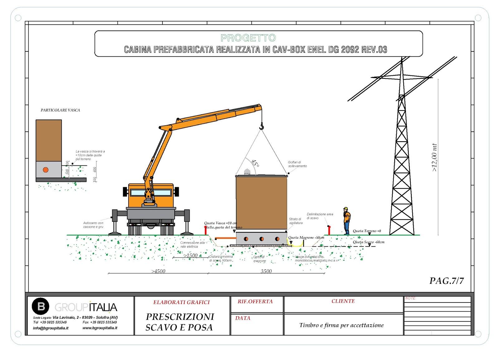 B group italia srl cabine elettriche prefabbricate 2017 for Bb italia srl