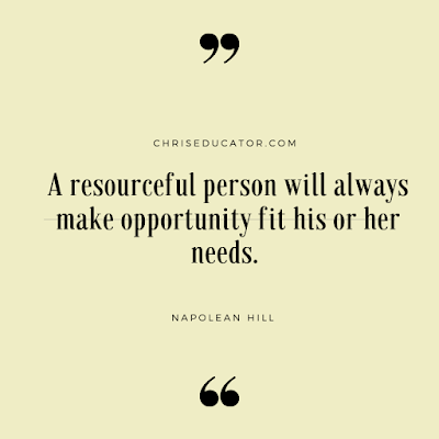 Napolean Hill on Being Resourceful