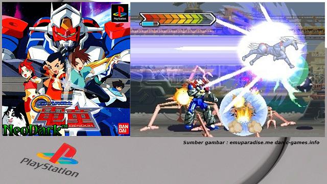 Game Bertema Robot Dari Konsol Legendaris PlayStation One(PS1) Yang Keren!