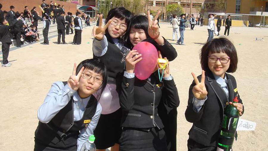 Suasana Sekolah di Korea