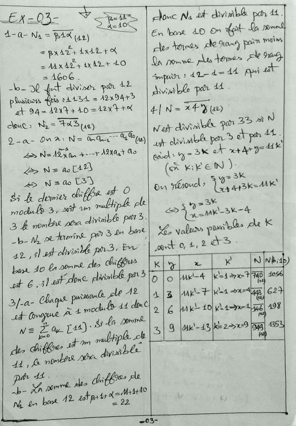Arithmétiques