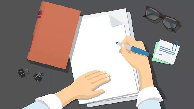 Urutan Menulis Surat Pribadi