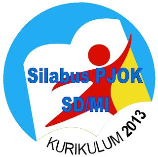 Contoh Silabus SD Kurikulum 2013 Mata Pelajaran PJOK Revisi 2016