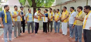 शिक्षक दिवस पर पंतजलि योग परिवार ने शिक्षकों को किया सम्मानित | #NayaSaberaNetwork