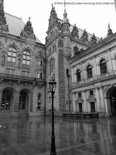 Innenhof Rathaus Hamburg
