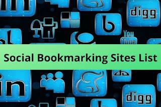 Free & High PR Social Bookmarking Sites List