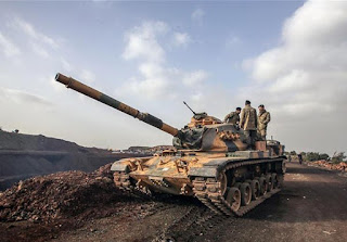 Δεκάδες επιθέσεις εναντίον τουρκικών στόχων