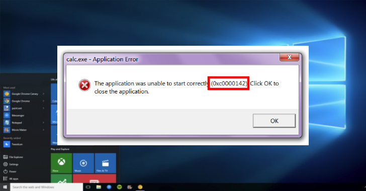How To Fix Application Error 0xc0000142 on Windows?