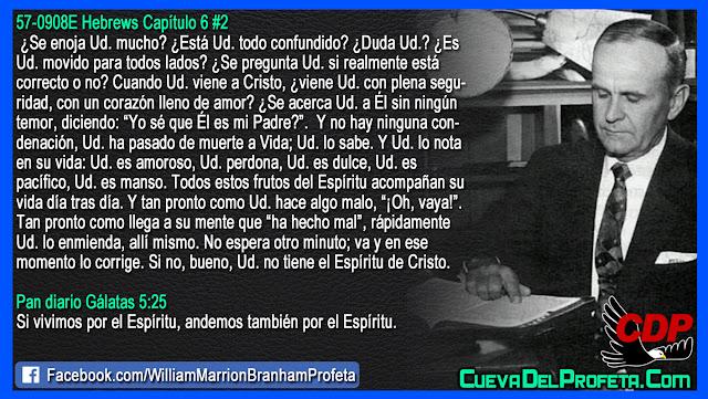 El Espíritu de Cristo en mi - William Branham en Español