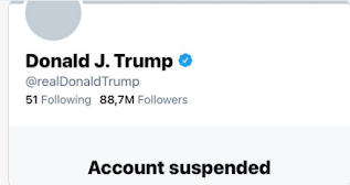 American celebrities, activists celebrate as Twitter permanently suspend Trump's account