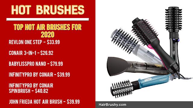Top Hot Air Brushes 2020