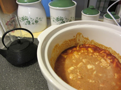 vegan crockpot chickpea recipe