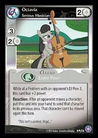 My Little Pony Octavia, Serious Musician The Crystal Games CCG Card
