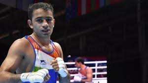 1- Amit Panghal first Indian male boxer to reach World Championships final