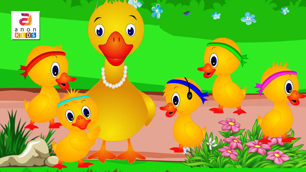 Anon kids: Five Little Ducks Went Out One Day   Preschool Songs And ...