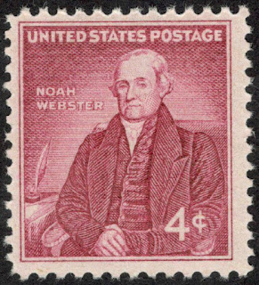 Noah Webster US Stamp