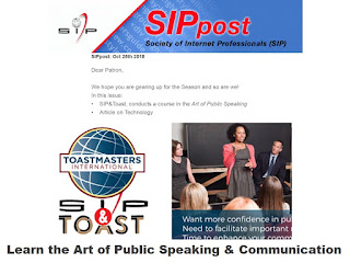 Learn the Art of Public Speaking & Communication, SIPpost