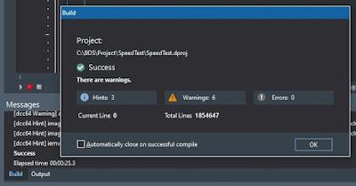 Delphi 10.4.2 Win64
