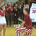Indiana's Collin Hartman proposes to cheerleader girlfriend at Senior Night (Video)