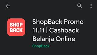 Aplikasi pemberi cashback shopback