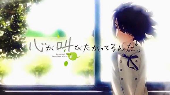Kokoro ga Sakebitagatterunda - 11 anime movie terbaik 2015