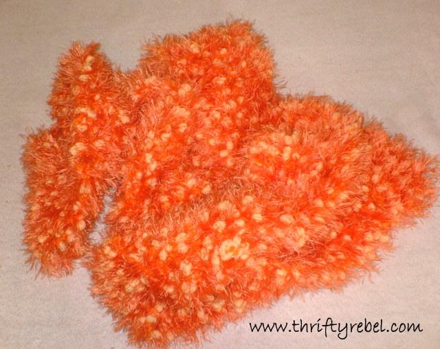 Faux Pumpkin Seed Fall Wreath Thrifty Rebel Vintage