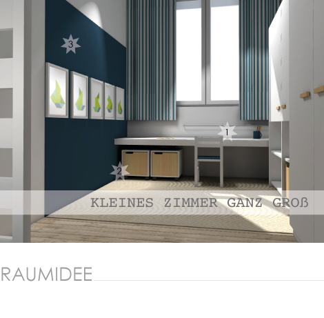 kleine zimmerrenovierung design stauraum kinderzimmer, kinderzimmerideen: kinderzimmeridee für ein kleines kinderzimmer, Innenarchitektur