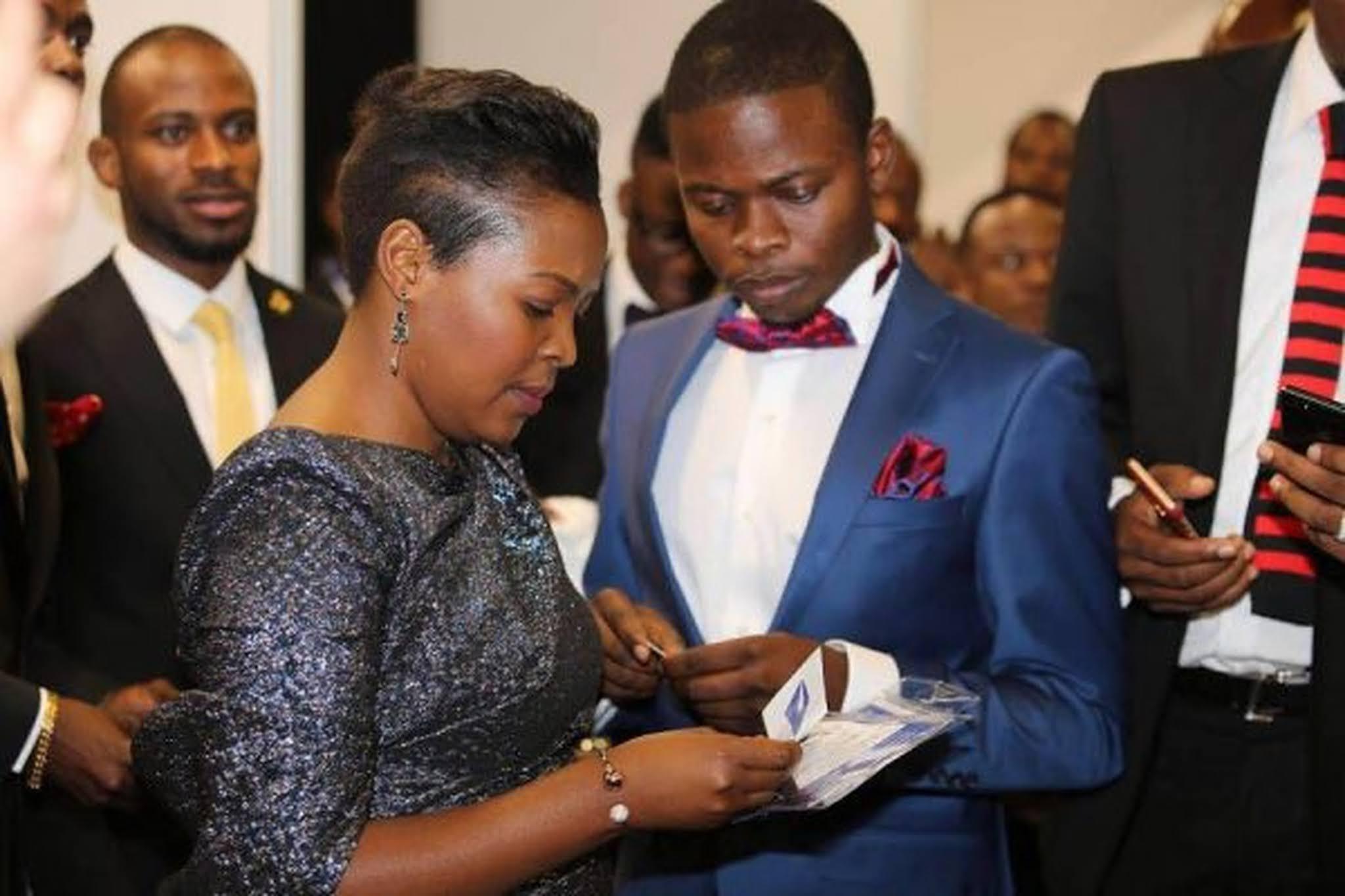 Prophet Shepherd and Mary Bushiri
