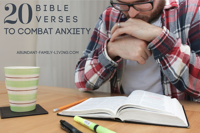 20 Bible Verses to Combat Anxiety