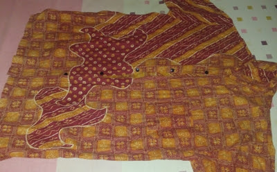 desain model baju batik trendy