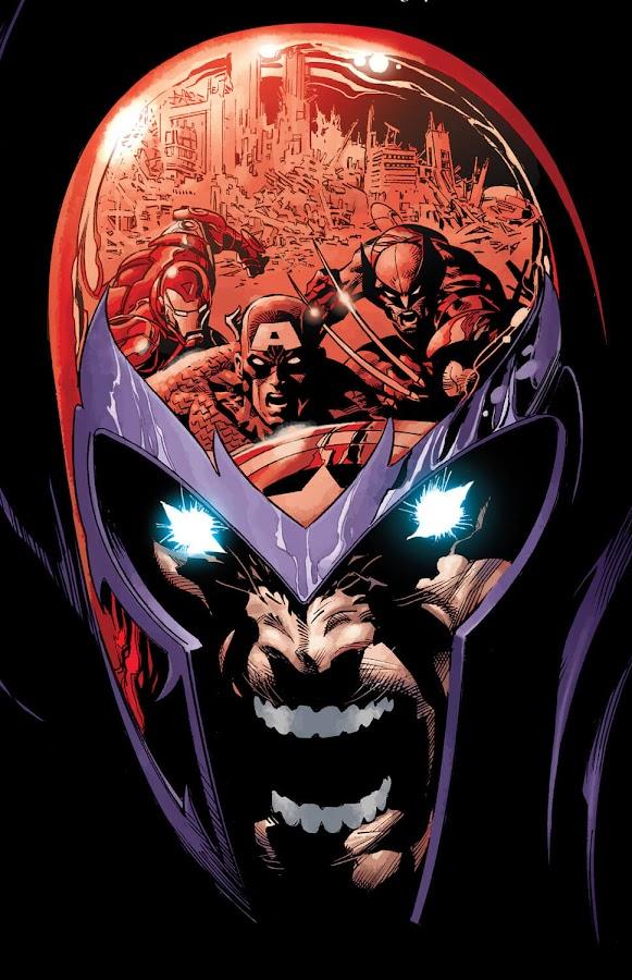 new avengers vs magneto genosha brian michael bendis mike deodato jr.