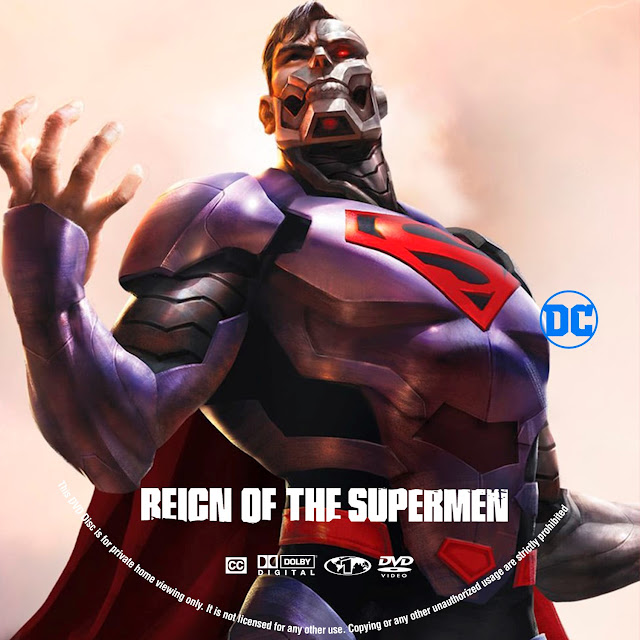 Reign of the Supermen Label Cover