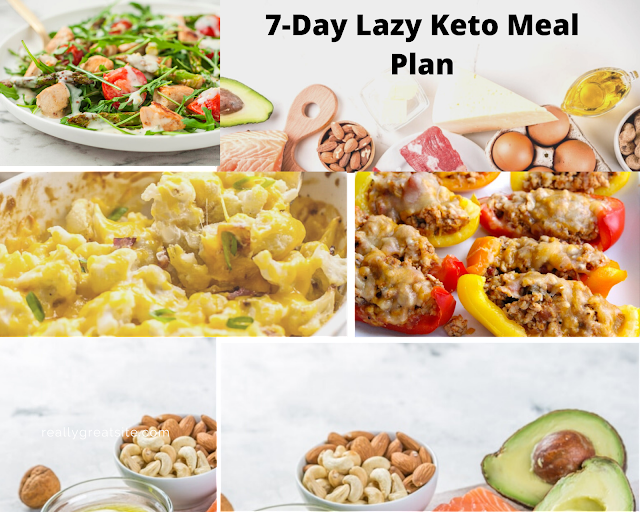 7-Day Lazy Keto Meal Plan
