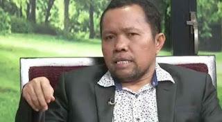 Ketua Asosiasi Media Siber Indonesia (AMSI) Wenseslaus Manggut