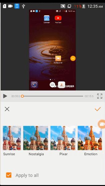 أفضل تطبيقات الاندرويد تطبيق مونتاج الفيديو تحرير و تعديل الفيديو و تصوير شاشة الهاتف DU Recorder