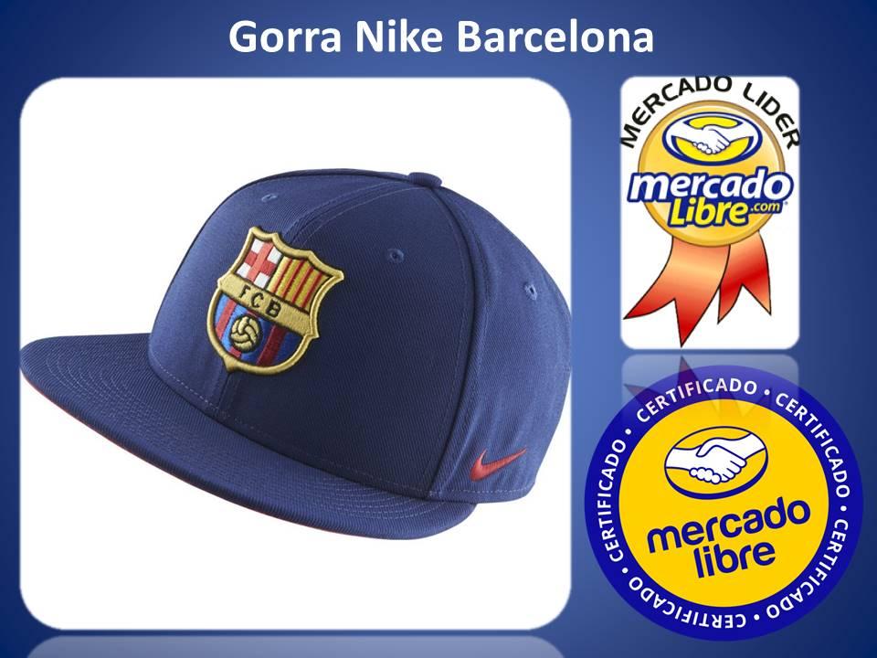 Deportivos Fair Play  Gorras Nike Snapback Planas Barcelona cf435ce1eb0