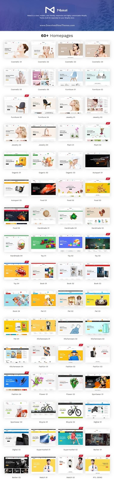Best Multipurpose Shopify Theme 2020