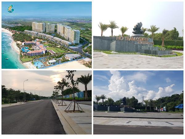 Cong trinh dự án Hồ Tràm complex vừa được triển khai và mở bán hồi tháng 6 năm 2020