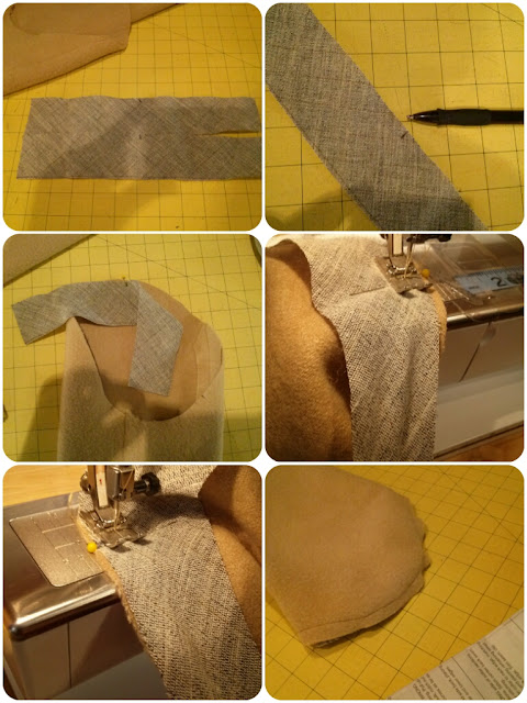 How to Sew a Set-in Sleeve with Bias Strip - Erica B.'s DIY Style!