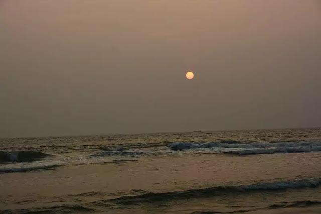 Varkala Beach Sunset