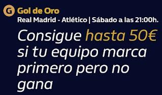 william hill Gol de Oro Real Madrid vs Atlético 12-12-2020