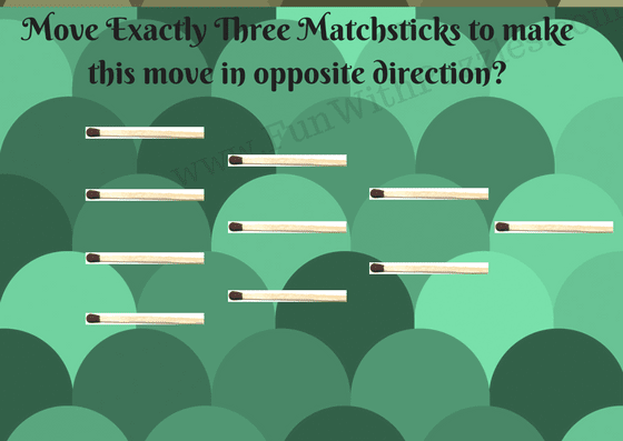 Matchstick Puzzle for kids-Pattern