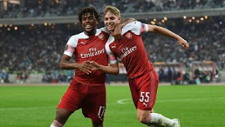 Qarabag vs Arsenal 0-3 Video Gol & Full Highlights